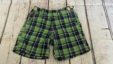 Baby Gap toddler boy shorts 18-24 months old blue & green Sp21A