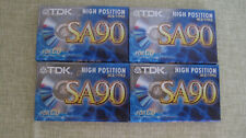 TDK Kassetten SA90 Audio Cassetten Musikkassetten original verpackt