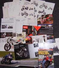 MV Agusta F4, Brutale, Benelli 1130 Tre, Aprilia RS, Beta brochure collection  F