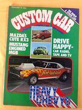 Custom Car Magazine : February 1973 : V.G. Condition