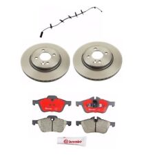 Mini Cooper R53 2006 - 2008 Front Disc Brake Rotors with Pads and Sensor Kit NEW