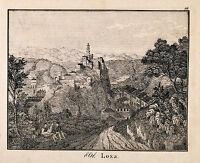 Loja Granada Espana Spain Orig Lithograph 1831 aus Bildergalerie für die Jugend