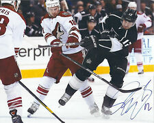 SIMON GAGNE signed 8 x 10 photo NHL hockey STANLEY CUP KINGS nice FREE SHIP COA