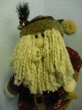 Christmas Holiday Free Standing Santa Claus 32 Inches Tall