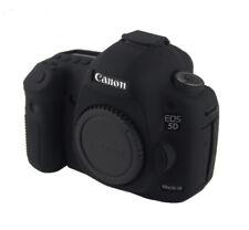 Silikon Tasche Etui für Canon EOS 5D MarkIII 5DS 5DR 5D3 Kameratasche schwarz