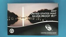 2017 ~ S  UNITED STATES MINT SILVER PROOF SET W/ MINT BOX ~ COA (10 COIN)