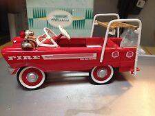 Hallmark Kiddie Kar 1962 Murray Super Deluxe Fire Truck-sr
