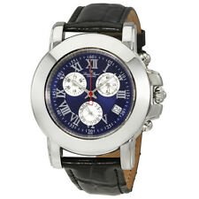 Lucien Piccard Blue Dial Mens Chronograph Watch 27022YELL4