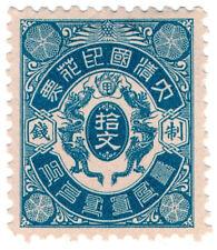 (I.B) China Revenue : Duty Stamp $2 (Double Dragon)