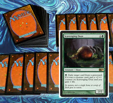 mtg GREEN UNTAPS DECK Magic the Gathering rare 60 cards + scavenging ooze
