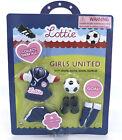 Lottie Branksea United Soccer Game Clothes w Accessories NEW 2016 Sealed Arklu