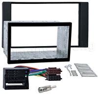 Radio Blende für FORD C Max S Max Doppel DIN Einbau Rahmen MOST Adapter ISO SET