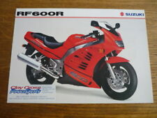 SUZUKI `RF 600R MOTORBIKE BROCHURE,  POST FREE (UK)
