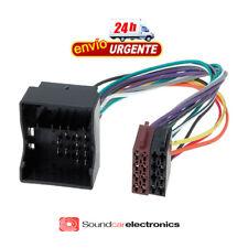 CABLE ADAPTADOR CONECTOR RADIO OEM A ISO RENAULT 2009>