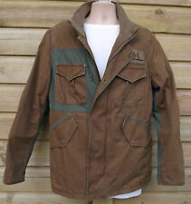 Timberland Green & Brown Cotton Field Coat - M - c2007