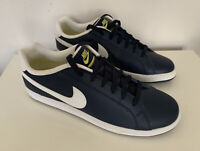 Mens Nike Trainer Court Majestic Leather in Navy Blue Size 9 UK - NEW