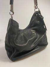 ⚜️ Original Yves Saint Laurent Schultertasche, schwarzes Leder