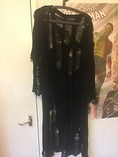 Disturbia Distressed Ripped Cardigan Kimono Sold Out S Goth Witchy Altgirl Rock