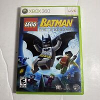 Lego Batman The Videogame Xbox 360 Game Complete Free Ship Video Game