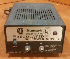 Numark Solid State Regulated DC Power Supply Model no. CB-170A