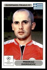 Panini Liga de Campeones 2000/2001 - Predrag Djordjevic Olympiakos No.129