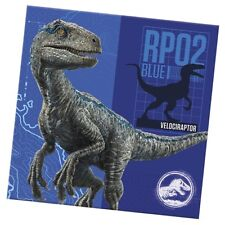 Jurassic World Pack of 20 Napkins Party Tableware Dinosaur Gift