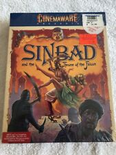 Sinbad and the Throne of the Falcon Cinemaware PC IBM Big Box Vintage 1988