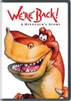We're Back! A Dinosaur's Story (New Artwork) - DVD By John Goodman - VERY GOOD