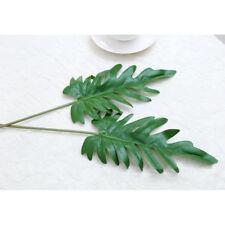Artificial palm leaves green plants DIY decorative flowers plant foliage