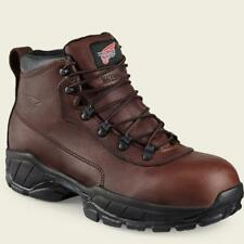 "NEW Red Wing 6681 Boots Mens  6"" Waterproof  steel Toe USA Made New Size 7.5 EE"