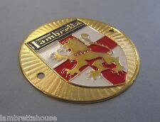 Scootopia Lambretta Brass Concessionaires Badge G7
