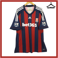Stoke City Football Shirt Adidas XXL 2XL Away Soccer Jersey 150 Years 2012 2013