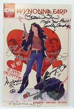 WonderCon 2016 IDW Wynonna Earp BE MY BLOODY VALENTINE February signed comic X 6