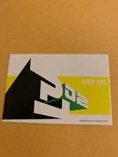 Pearl Jam Riot Act Sticker