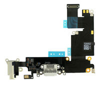 Genuine iPhone 6 Plus White Dock Charging Port Headphone & Mic Flex ORIGINAL