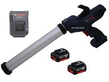 Batería Bosch cartuchos prensa GCG 18v-600 + 2 x 3.0 ah bateria 18 voltios + cargador