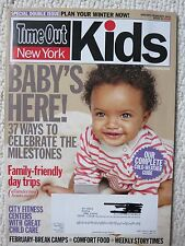 Time Out New York Kids Magazine 63 January 2011 Baby's Here