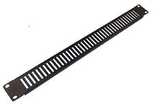 """1u VENTED BLANK PANEL - Metal Blanking Plate for 19"""" Rack Cabinets"""