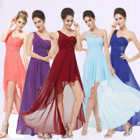 Ever-Pretty US One-shoulder High-low Bridesmaid Party Dress Homecoming Prom 8100