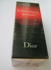 Fahrenheit Absolute Dior 100 ml Eau de Toilette Spray in Folie originalverpackt