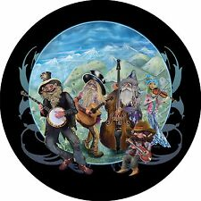 Gnome Bluegrass Spare Tire Cover Jeep RV Camper etc(all sizes avail)