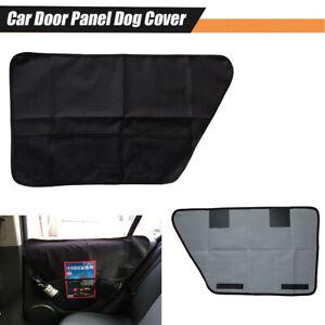 2Pcs Car Side Door Protector Storage Bag Magazine Card Organizer Anti-scratch