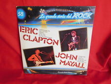 ERIC CLAPTON + JOHN MAYALL La grande storia del Rock LP ITALY MINT- G/f