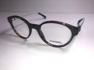 CHANEL Eyeglass Frames 3273 c. 714 Tortoise Women Glasses Clear Translucent $599