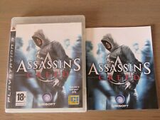 JEU PLAYSTATION 3 PS3 ASSASSIN'S CREED COMPLET EN FRANCAIS
