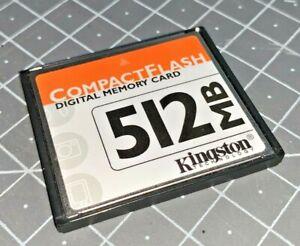 Kingston 512mb Compact Flash Type 1 Memory Card