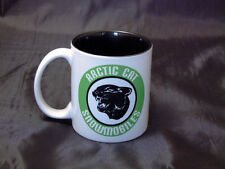 Reproduction Vintage Arctic Cat Green Snowmobile Logo Coffee Mug