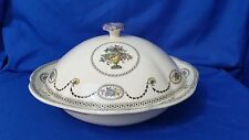 Copeland Spode Antique Covered Casserole Colonial Pattern