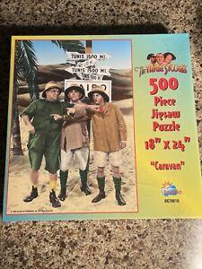 CARAVAN - THE THREE STOOGES SUNSOUT 500 Piece PUZZLE
