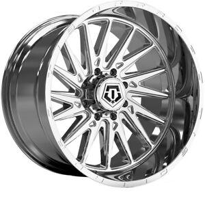 "TIS 547C 24x12 8x170 -44mm Chrome Wheel Rim 24"" Inch"